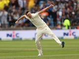 England's Craig Overton celebrates the wicket of India's KL Rahul on August 27, 2021