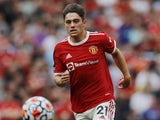 Manchester United winger Daniel James pictured in August 2021