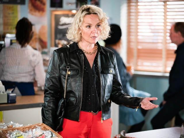 Janine on EastEnders on September 9, 2021