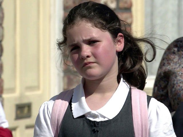 Hope on the first episode of Coronation Street on September 6, 2021