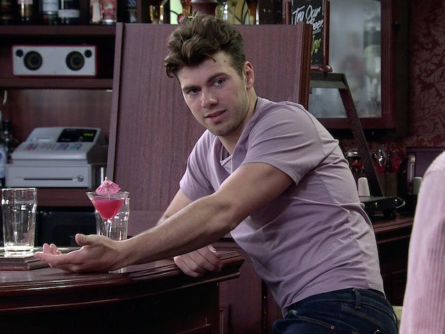 Curtis on the second episode of Coronation Street on September 6, 2021