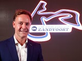 Circuit Zandvoort director Robert van Overdijk poses during a press conference, the Dutch Grand Prix should have returned to the Formula One calendar in 2020 but was cancelled following the outbreak of the coronavirus disease (COVID-19) the race is now du