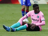 Barcelona youngster Ilaix Moriba pictured in May 2022