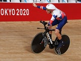 Jaco Van Gass of Britain in action at the Tokyo Paralympics on August 26, 2021