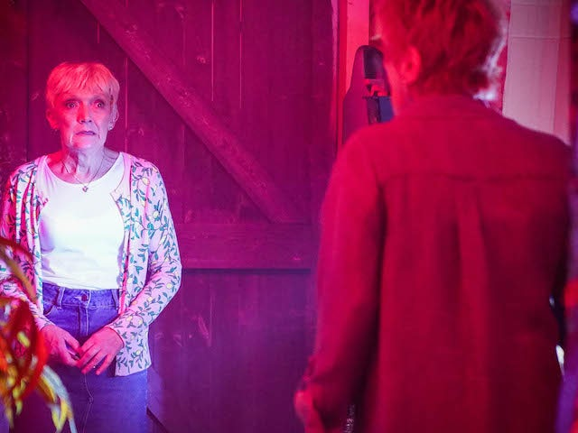 Jean and Shirley on EastEnders on September 7, 2021