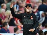 Liverpool manager Jurgen Klopp pictured on August 28, 2021