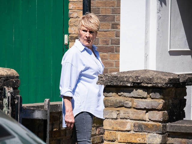 Shirley on EastEnders on September 9, 2021