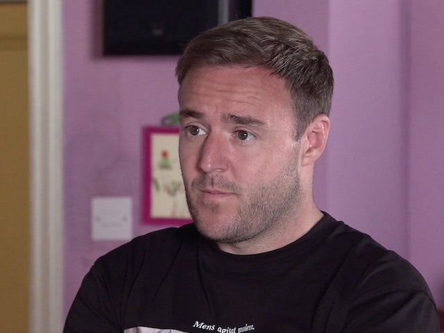 Tyrone on the second episode of Coronation Street on September 6, 2021