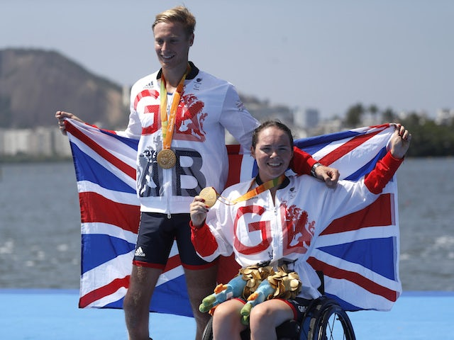 Great Britain secure double gold in Paralympic rowing