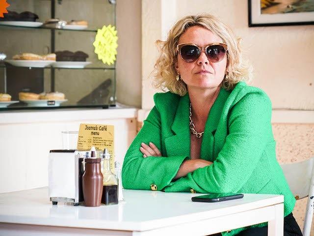 Janine on EastEnders on September 10, 2021