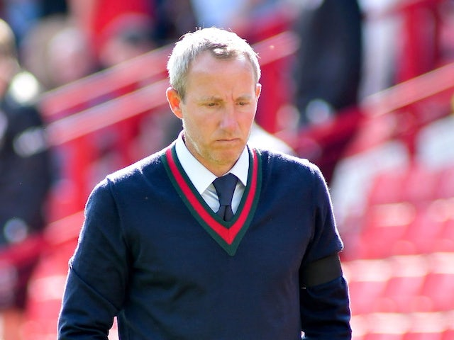 Birmingham City manager Lee Bowyer on August 28, 2021