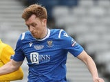 Liam Craig in action for St Johnstone in February 2021