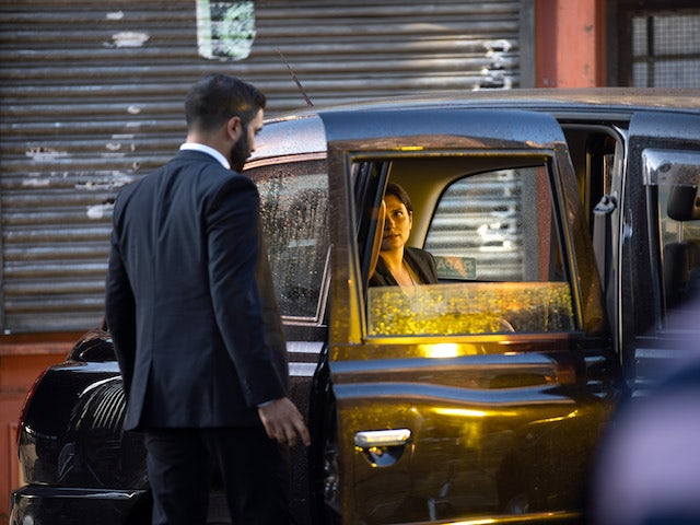 Sabeen on Coronation Street on September 10, 2021