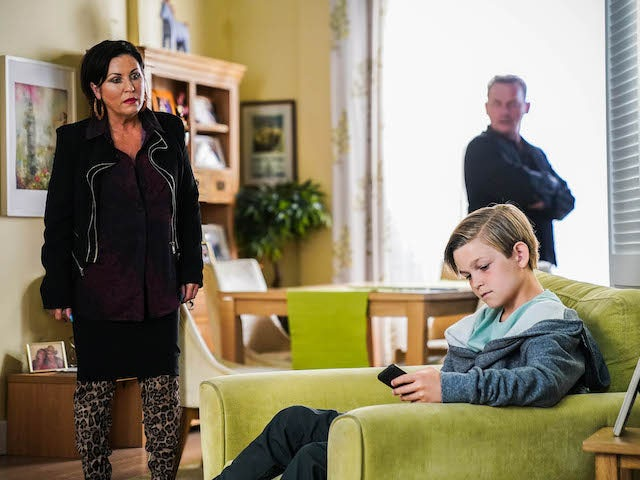 Kat and Tommy on EastEnders on September 10, 2021
