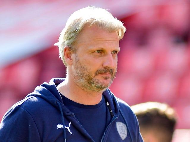 Barnsley manager Markus Schopp on August 28, 2021