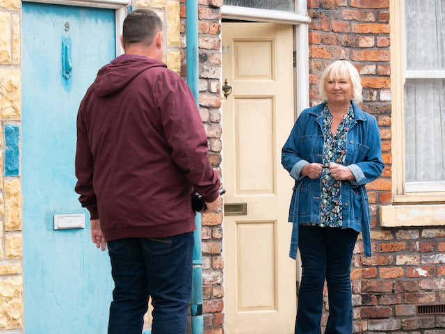 Eileen on the second episode of Coronation Street on September 6, 2021