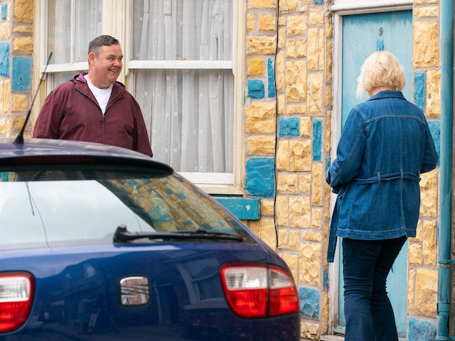 George on the second episode of Coronation Street on September 6, 2021