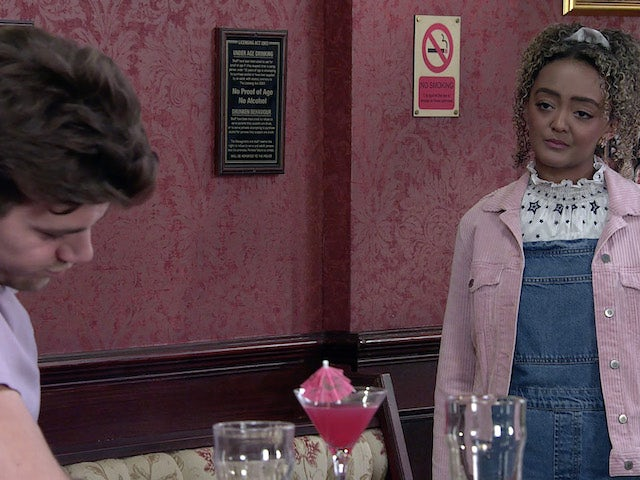 Emma on the second episode of Coronation Street on September 6, 2021