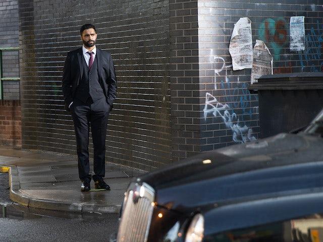 Imran on Coronation Street on September 10, 2021