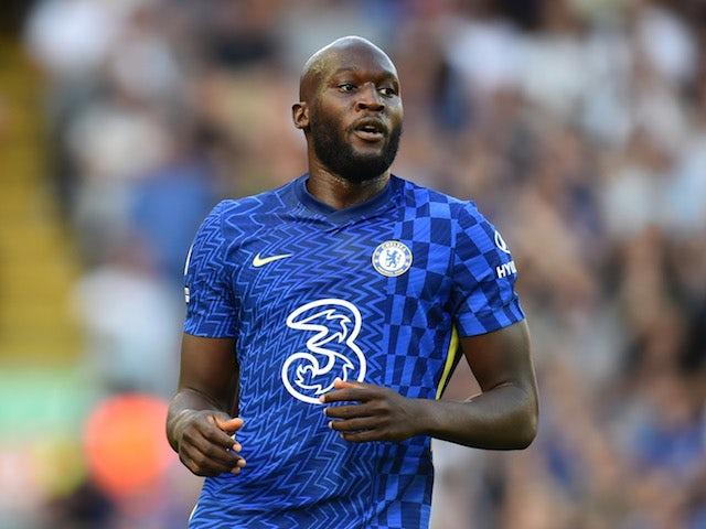 Chelsea's Romelu Lukaku on August 28, 2021