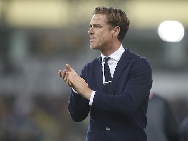 AFC Bournemouth manager Scott Parker reacts after the match on August 24, 2021