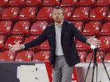 Sheffield United manager Slavisa Jokanovic reacts on August 28, 2021