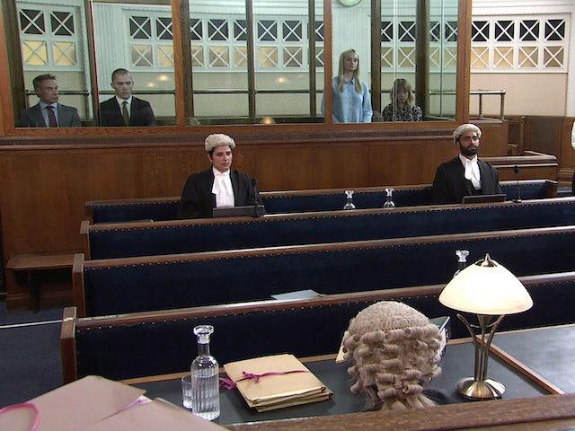 The court on Coronation Street on September 10, 2021
