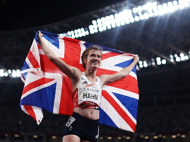 Thomas Young and Sophie Hahn give Great Britain a golden day on the track