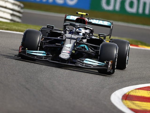 Valtteri Bottas tops first practice in Belgium with Lewis Hamilton 18th