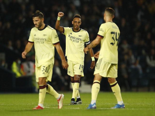 Mikel Arteta: 'Aubameyang was extraordinary against Burnley'