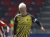 Will Hughes pictured for Watford in May 2021