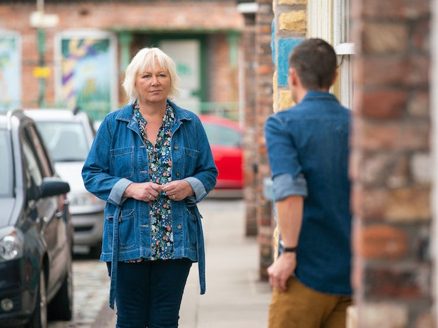 Eileen on the first episode of Coronation Street on September 6, 2021