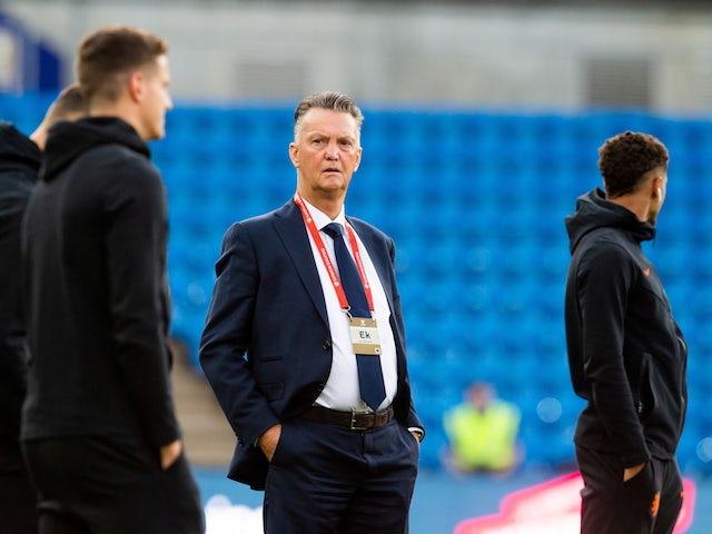 Netherlands boss Louis van Gaal pictured on September 1, 2021