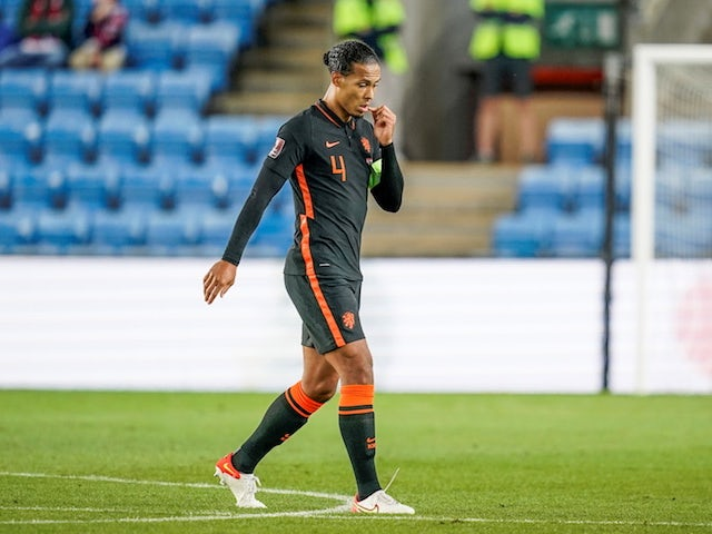 Jurgen Klopp says his decision to rest Virgil Van Dijk was 'sensible'