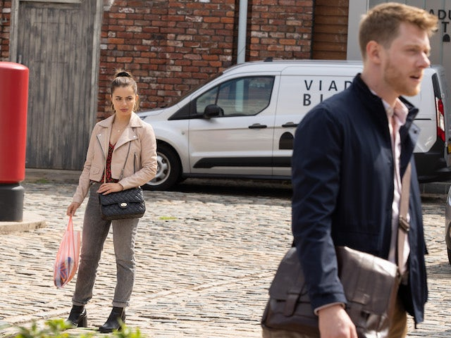 Daisy and Daniel on the second episode of Coronation Street on September 24, 2021