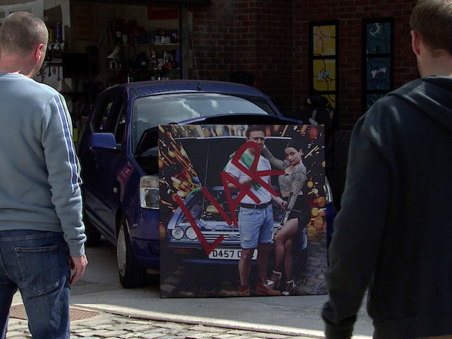 LIAR on the second episode of Coronation Street on September 15, 2021