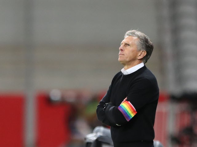 Saint-Etienne manager Claude Puel pictured in May 2021
