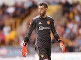 Manchester United goalkeeper David de Gea pictured in August 2021