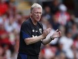 West Ham United manager David Moyes on September 11, 2021