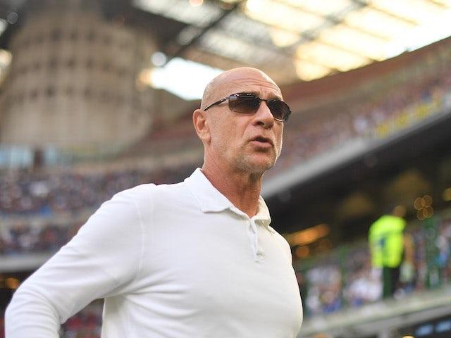 Genoa head coach Davide Ballardini pictured in August 2021