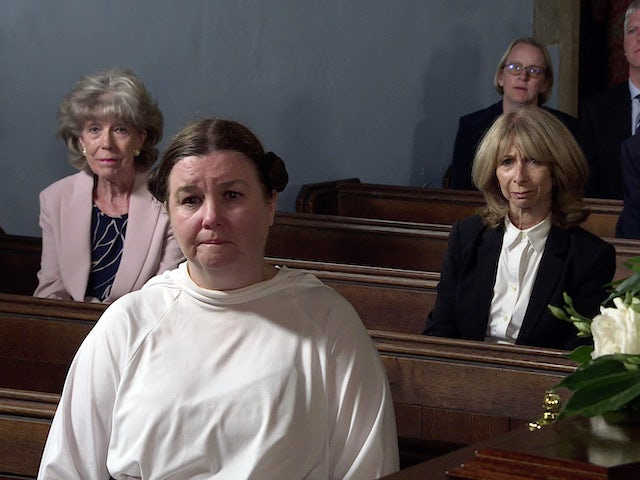 Audrey, Mary and Gail on the first episode of Coronation Street on September 24, 2021