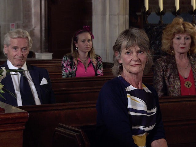 Ken, Gemma, Freda and Claudia on the first episode of Coronation Street on September 24, 2021
