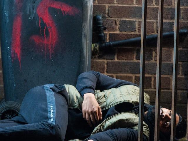 Zeedan on the first episode of Coronation Street on September 20, 2021