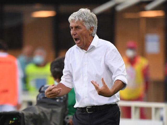 Atalanta BC manager Gian Piero Gasperini pictured in August 2021