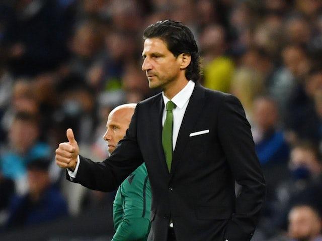 Pacos de Ferreira coach Jorge Simao pictured in August 2021