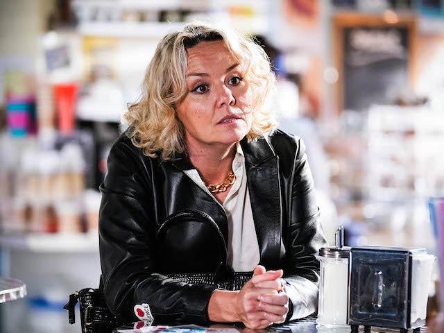Janine on EastEnders on September 24, 2021