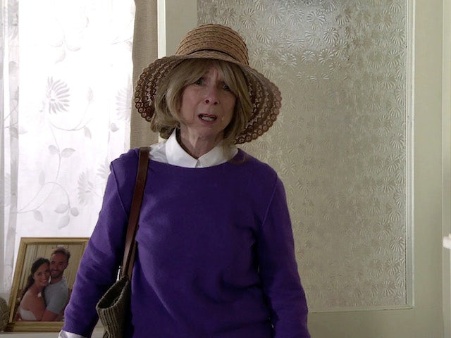 Gail on the second episode of Coronation Street on September 22, 2021