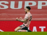 Kean Bryan pictured for Sheffield United in January 2021