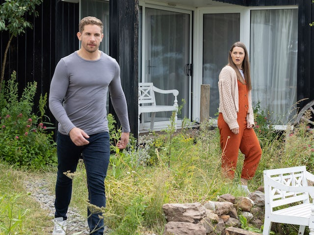Brody and Sienna on Hollyoaks on September 13, 2021