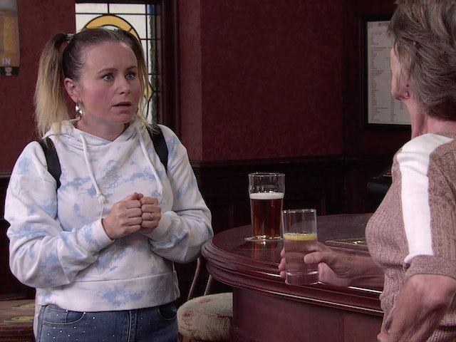 Gemma on the second episode of Coronation Street on September 17, 2021
